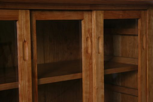 Custom Made Three Door Bookcase