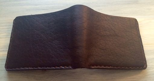 Custom Made Mens Heavy Weight Thick Bison 4 Pocket Wallet