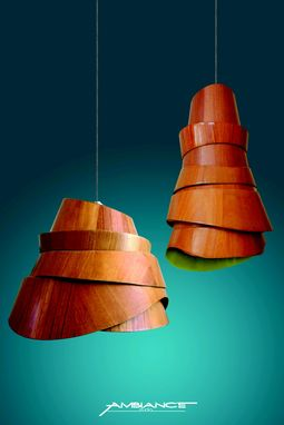 Custom Made Wave Lamps