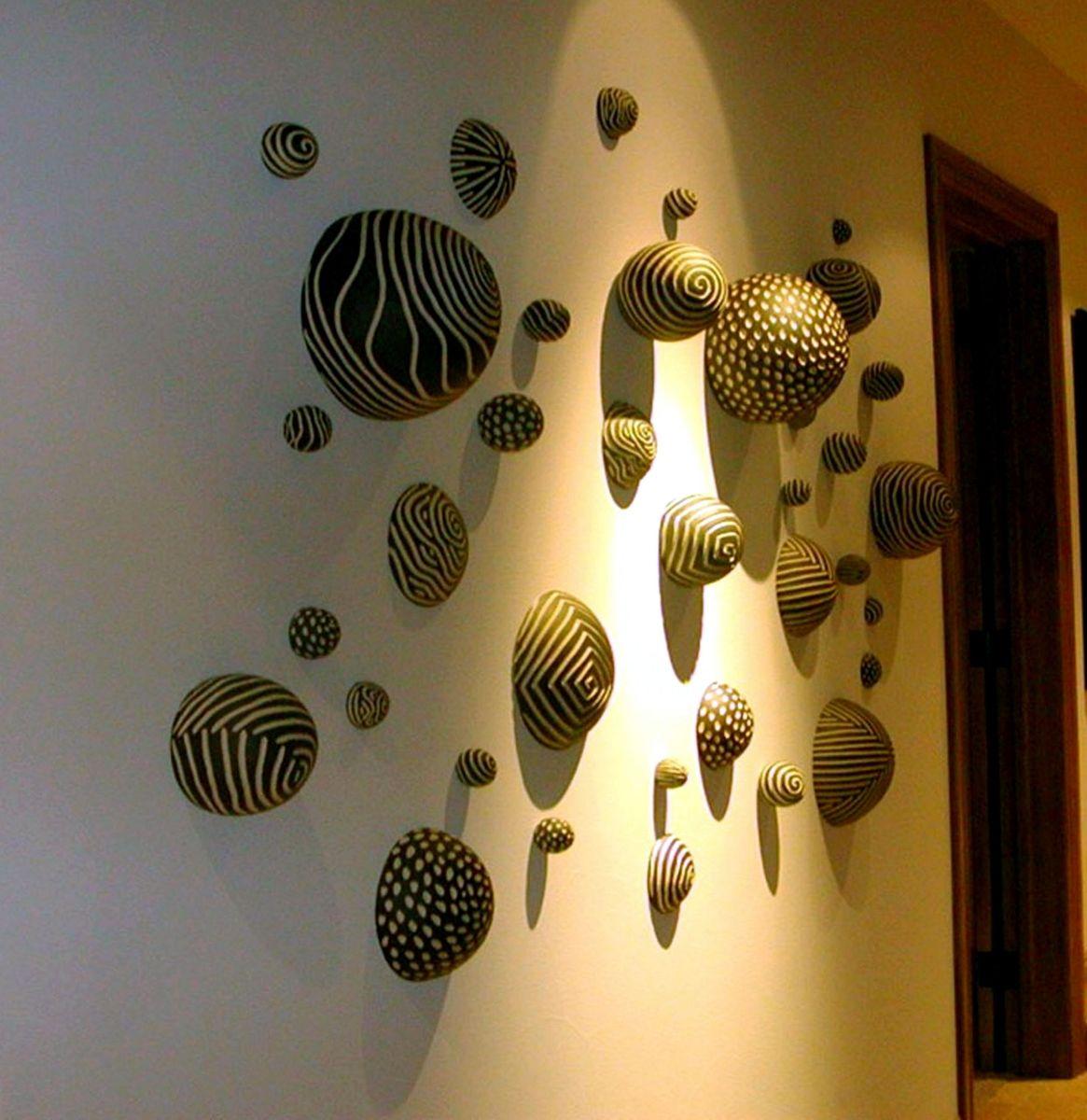 Custom Made Ceramic Wall Installation By Larry Halvorsen