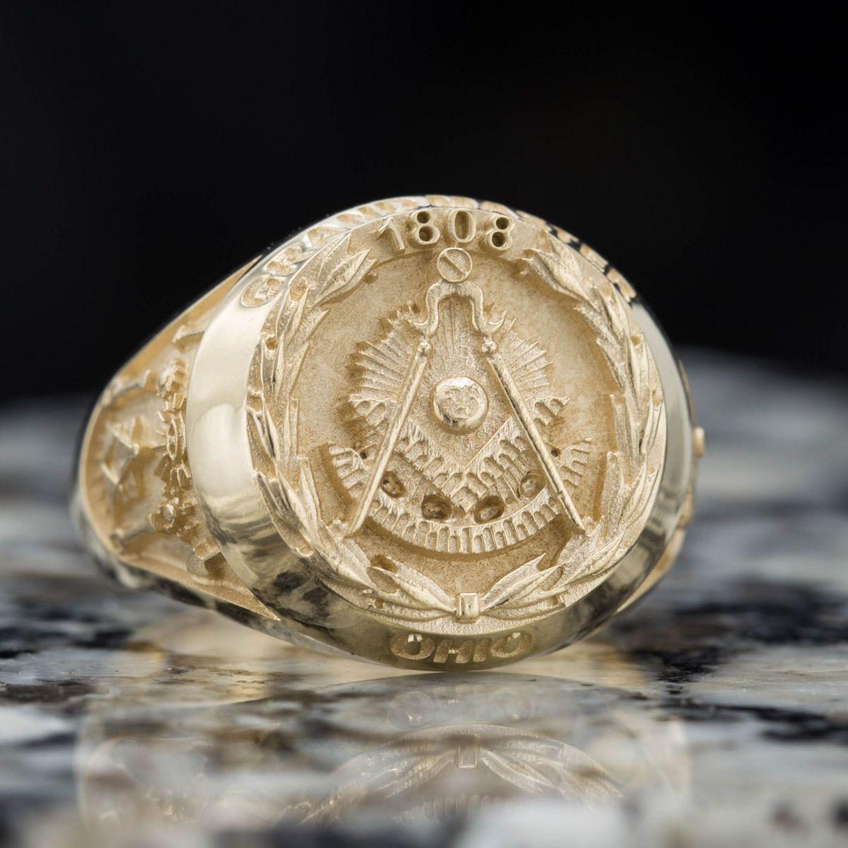 Custom Masonic Rings   Design Your Own Freemason Ring
