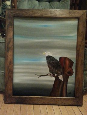Custom Made Majestic Eagle Oil Painting