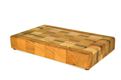 Custom Made Large Checked Chopping Block