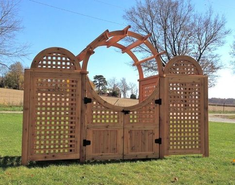 Custom Made Moon Gate Arbor