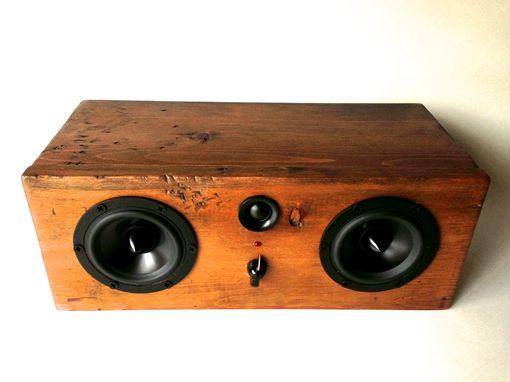Custom Made Bluetooth Speaker System - Big Walnut Box