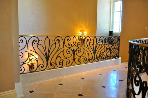 Custom Made Traditional European Style Railing
