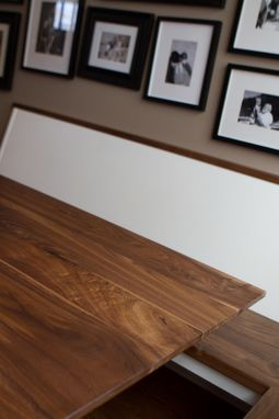Custom Made The Hahn Dining Table In Walnut
