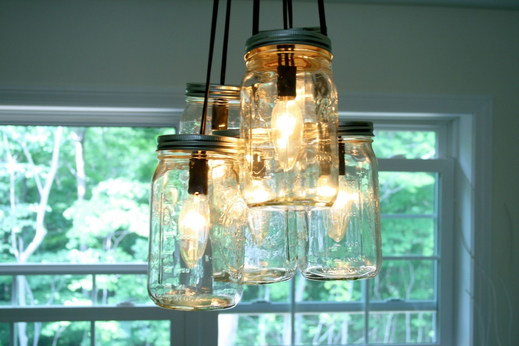 Buy a handmade mason jar chandelier made to order from knot 2 custom made mason jar chandelier arubaitofo Gallery