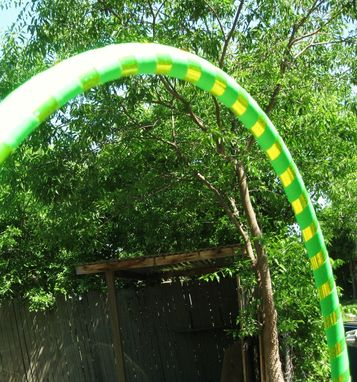 Custom Made Nuclear Reactor - Collapsible Weighted Travel Hula Hoop