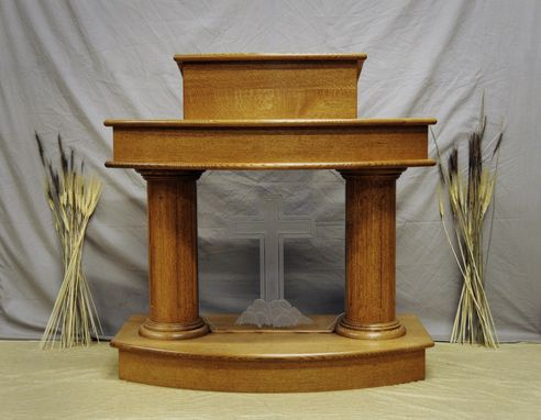 Custom Made The Harvest Pulpit