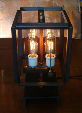 Custom Made Lighing - 4 Bulb Lantern / Chandelier