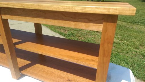 Custom Made Cherry Console