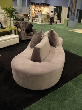 Custom Made Residential Free-Form Sofa Settee