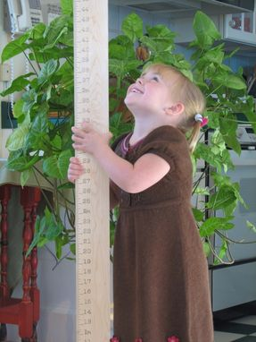 Custom Made Timeline Wooden Ruler