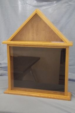 Custom Made Eagle Scout Award Display Case