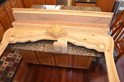 Custom Made Master Suite Fireplace Mantel