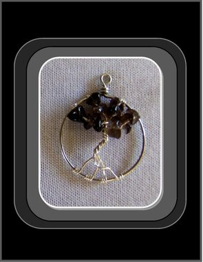 Custom Made Relieve Stress, Healing Jewelry, Smoky Topaz, Tree Of Life Jewelry, Meditation Jewlery, Birthstones