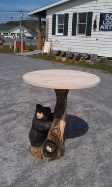 Custom Made Bear Table