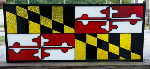 "Custom Made Retail Piece - ""Maryland Flag"" (R-4)"