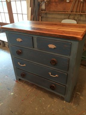 Custom Made Captains Colorbox Dresser