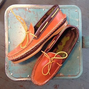 Custom Made Double Vamp Conoe Moccasin