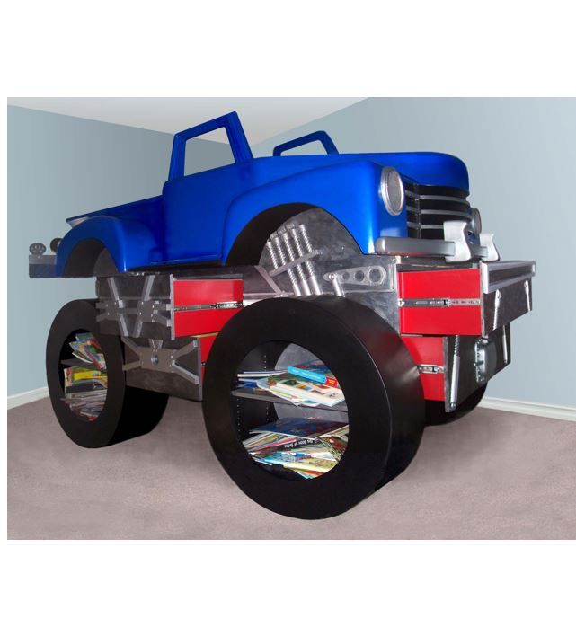 Hand Made Monster Truck Bed by Dst Studio | CustomMade.com
