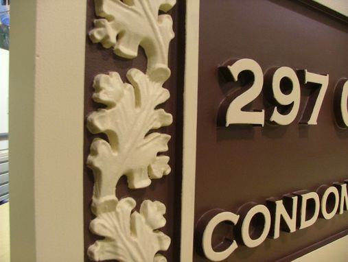 Custom Made Custom Carved Sign