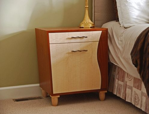 Custom Made Bed Side Cabinets