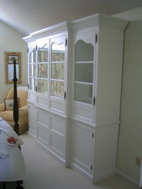 Custom Made Armoire & Entertainment Center