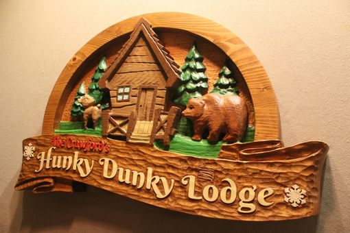 Custom Made Cabin Signs | Home Signs | Cottage Signs | Family Signs | Carved Wood Signs | Custom Signs