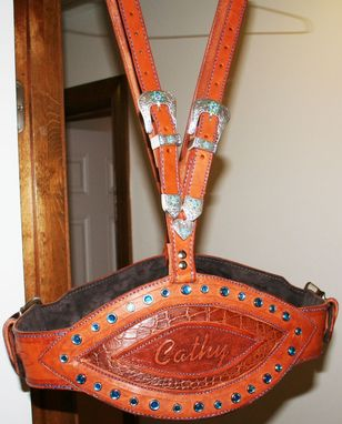 Custom Made Cathy's Gunbelt And Matching Chinks