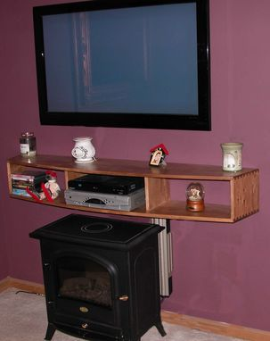 Custom Made Tv Shelf