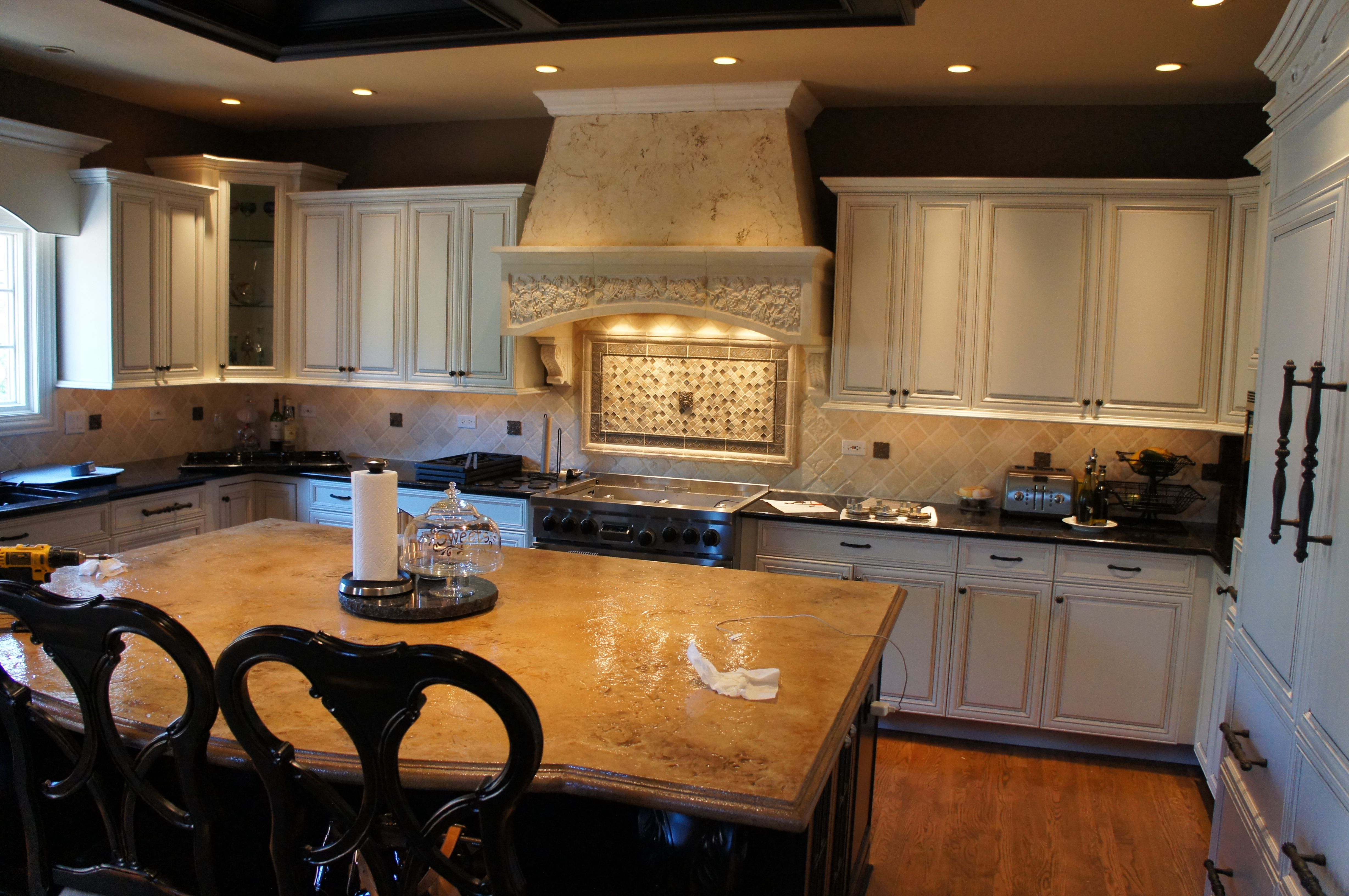 Custom Made Beautiful Re Finished Kitchen Cabinets By Peabody Enterprises Inc Custommade Com