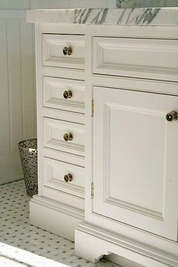 Custom Made White Painted Vanity