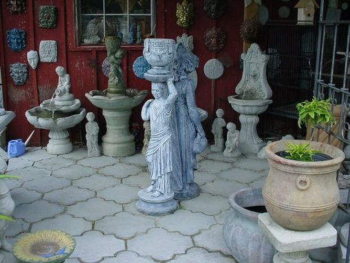 Custom Made Victorian, Grecian, Roman Lady Garden And Or Water Features