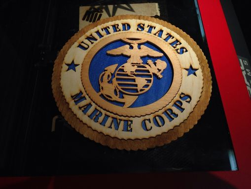 Custom Made Military Plaques