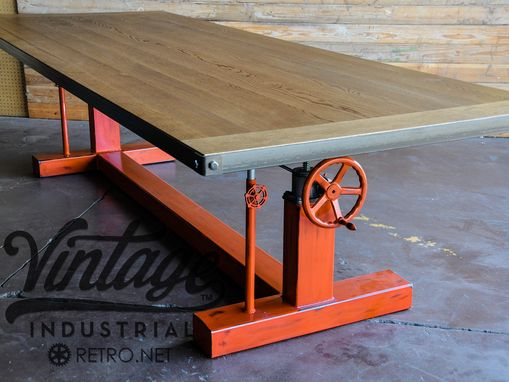 Custom Made Crank Table