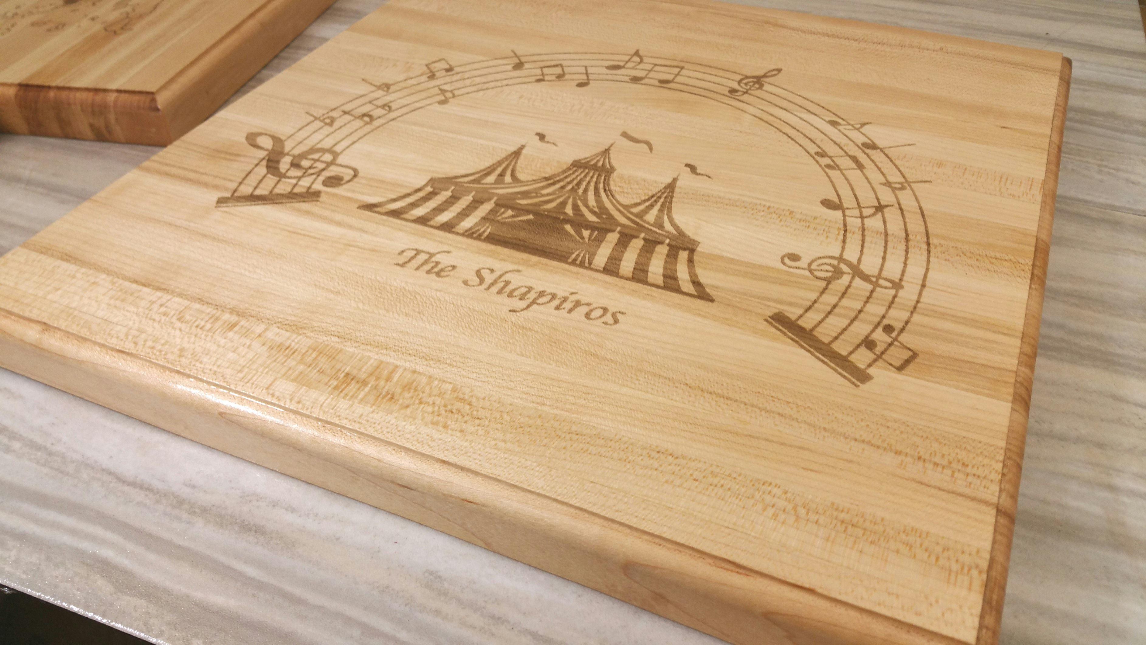 Custom Made Personalized Cutting Board