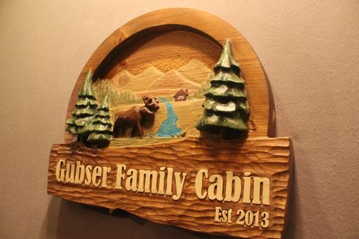 Custom Made Custom Cabin Signs | Carved Cabin Signs | Home Signs | Cottage Signs | Ranch Signs