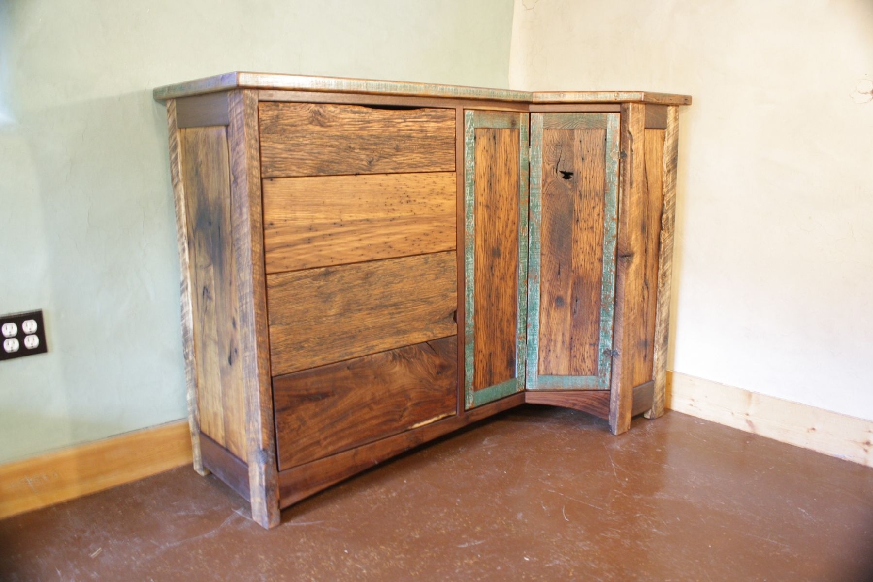 barnwood dresser bathroom reclaimed furniture products sustain layer vanity co