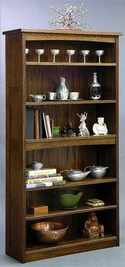 Custom Made Mission Bookcases