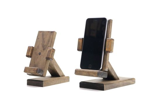 Custom Made Woodwarmth Iphone 6+ Stand & Recliner