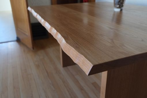 Custom Made Modern Live Edge Dining Table
