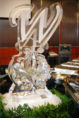 Custom Made Wedding Ice Sculptures
