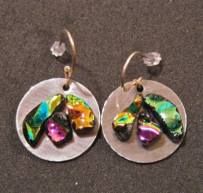 Custom Made Glass Earrings