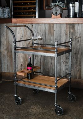 Custom Made Traditional Joinery Tea And Wine Trolly