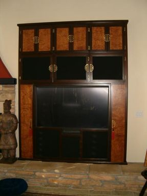 Custom Made Custom Entertainment Centers