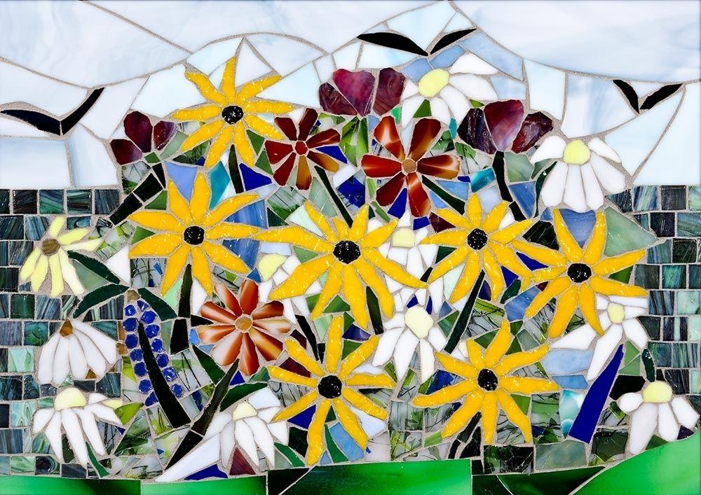 Hand Made Mosaic Wall Art by Tina Shoys, Mosaic Artist   CustomMade.com