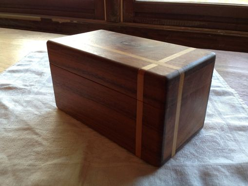 Custom Made Inlaid Jewelry Box
