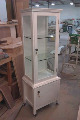 Custom Made Display Cabinet